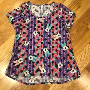 LuLaRoe Disney Mini Mouse Aline tunic